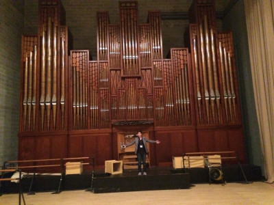 Of course Janie played this pipe organ.
